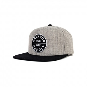 Oath III Snap Back Heather Grey Black