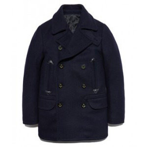 PEA COAT DA [NAVY]